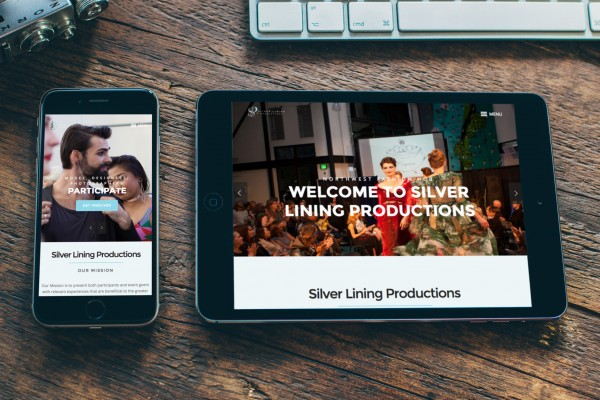 Hatchbytes Responsive Website Silver Lining Productions