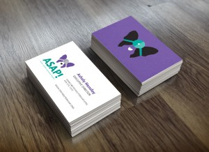 ASAP Animal Surgery Assistance Program Business Card Hatchbytes