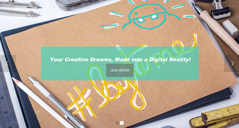 Website Design Trend: Image Slider