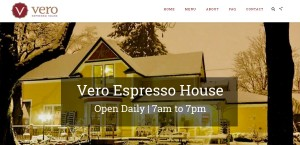 VeroEspressoHouse Website Design